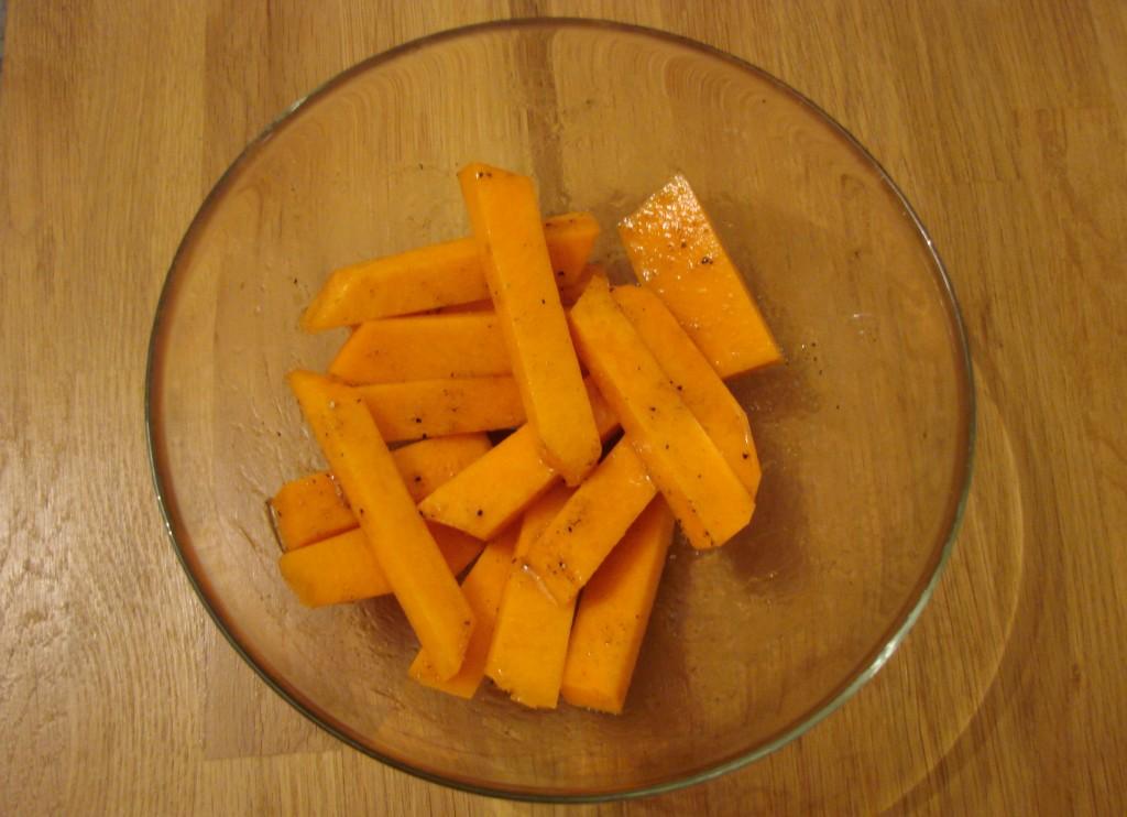 Ourserie.com - Frites de potiron miel-épices