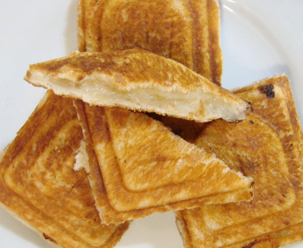 Ourserie.com - croque monsieur gorgonzola, miel et noix