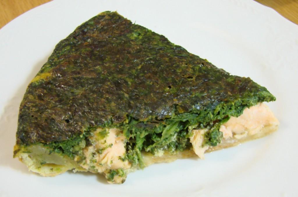 Ourserie.com - tatin saumon-épinard