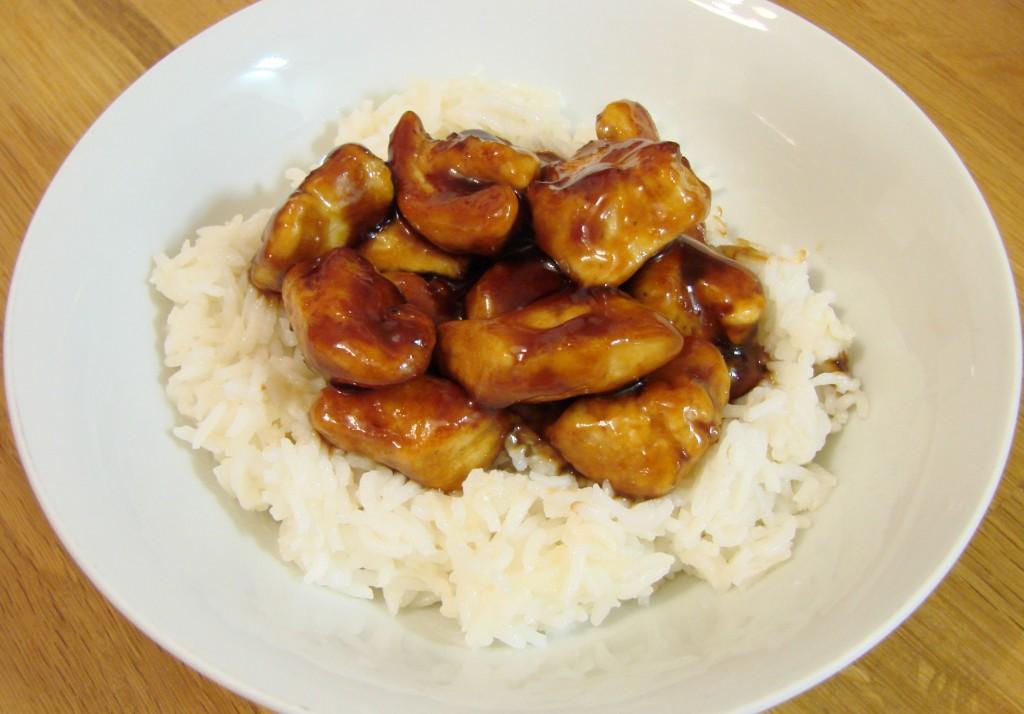 Ourserie.com - poulet miel sriracha