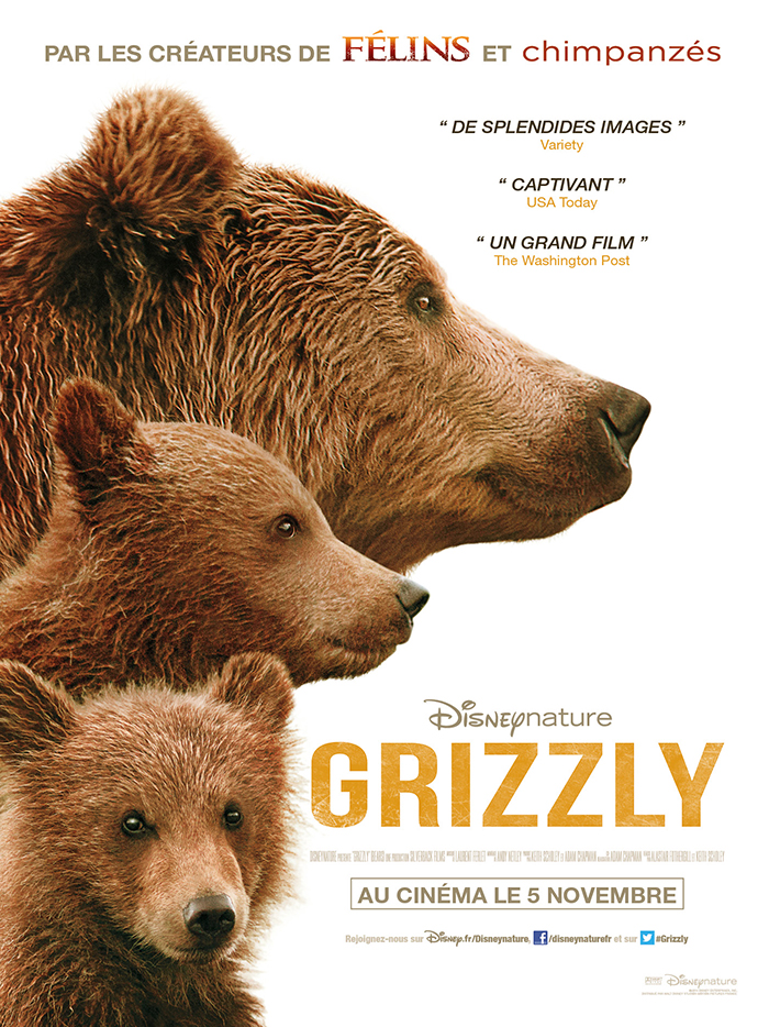 Ourserie.com - Grizzly, film documentaire
