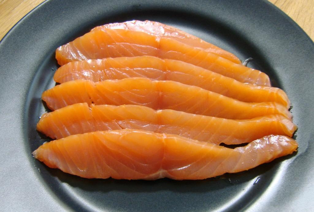 Ourserie.com - Émincés de saumon Atlantique fumé