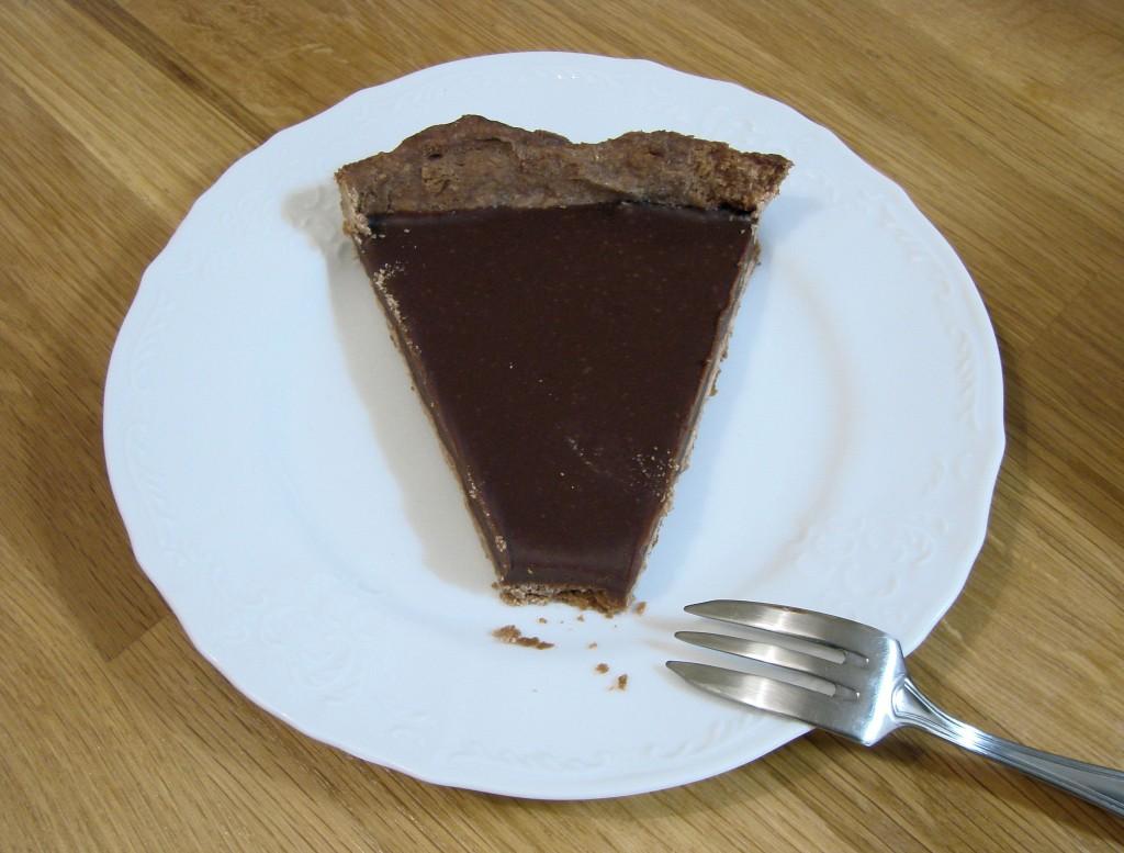 Ourserie.com - Tarte miel-chocolat