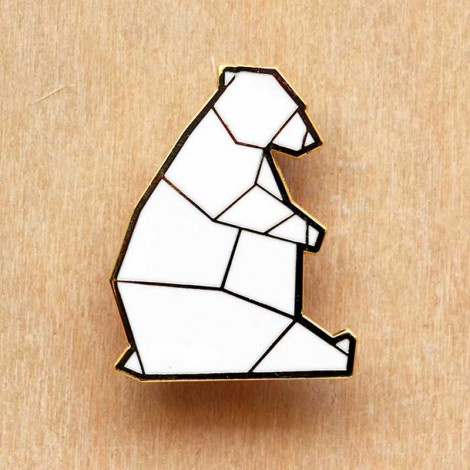 Ourserie.com - liste d'envies #15 - broche origami ours