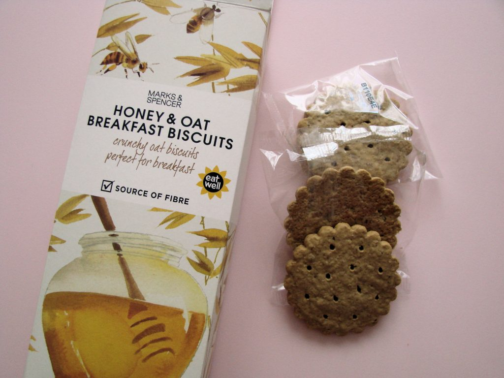 Ourserie.com - Honey & Oat breakfast biscuits